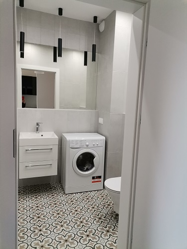 łazienka - mieszkanie w katowicach