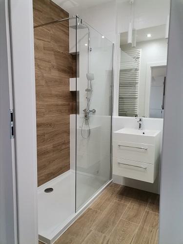 prysznic prostokątny