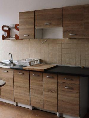 szafki w kuchni pracowniczej